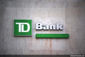 TD Bank sign on building