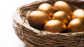 Basket of golden eggs
