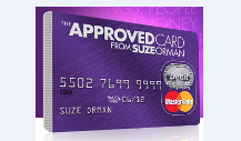 Suze Orman's credit card