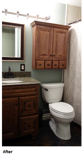 how i remodeled my bathroom for just 2 400