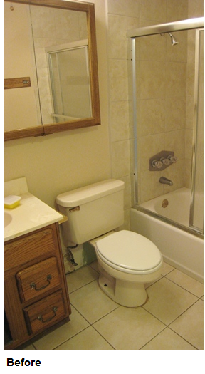 How Remodel A Bathroom How I Remodeled My Bathroom For Just $2400