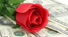 Rose on money