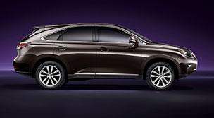 Midsize Full Size Suv Lexus Rx 350