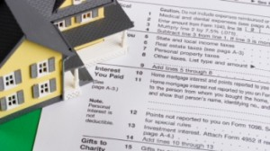 yellow house on income tax form