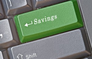 savings_button_on_computer_keyboard